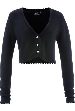 Bpc Bonprix Collection Geleneksel Alman Stili Hırka Siyah
