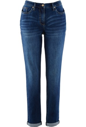 Bpc Bonprix Collection Mavi Boyfriend Streç Jean 34-54 Beden