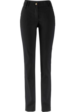 Bpc Bonprix Collection - Siyah Bengalin 5 Cepli Pantolon Dar Kesim