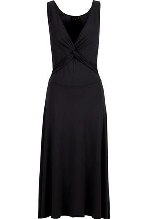 Bodyflirt Siyah Penye Elbise 34-54 Beden
