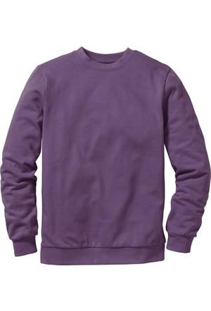 bonprix Sweatshirt Mavi