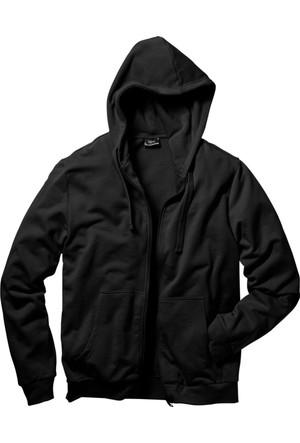 bonprix Sweat Ceket Siyah