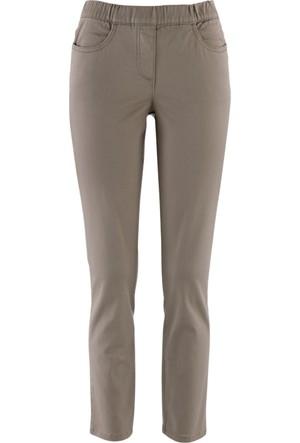 Bpc Selection Kahverengi 7/8 Paça Streç Pantolon