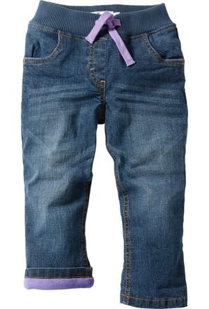 Bonprix John Baner Jeanswear Polar Astarlı Thermo Jean Mavi