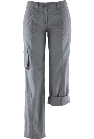 Bpc Bonprix Collection Kadın Gri Kargo Model Pantolon