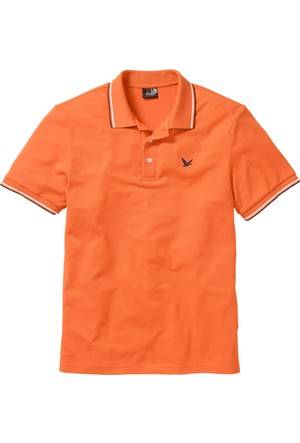 Bpc Bonprix Collection Turuncu Polo Yaka T-Shirt 34-54 Beden