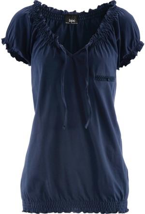 Bpc Bonprix Collection - Mavi Kısa Kollu T-Shirt
