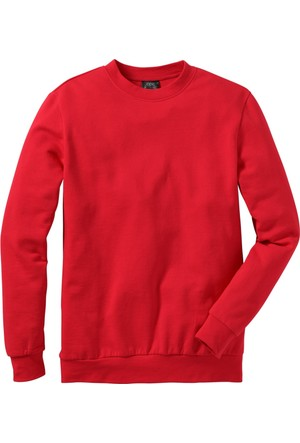Bpc Bonprix Collection Kırmızı Sweatshirt Regular Fit 34-54 Beden