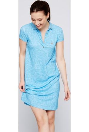 U.S. Polo Assn. Kadın Carolina Elbise Mavi