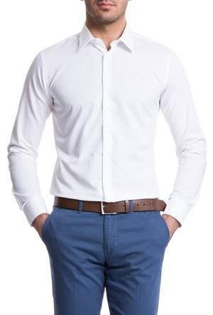 Cacharel Tesa Slm Gömlek Beyaz