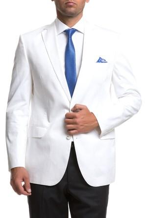 Cacharel CSf04 Soft Ceket Beyaz