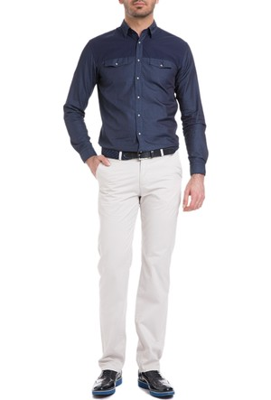 Cacharel Regular Basic Chino Pantolon Bej