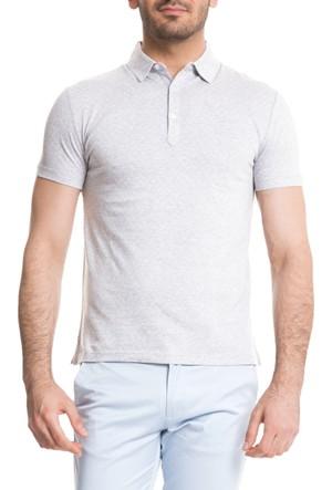 Cacharel Dieu Polo Yaka T-Shirt Gri