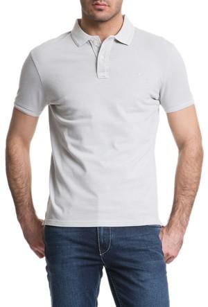Cacharel Acar Polo Yaka T-Shirt Gri