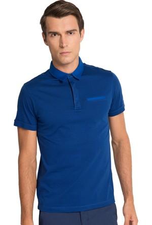 Cacharel Alepha Polo Yaka T-Shirt Lacivert