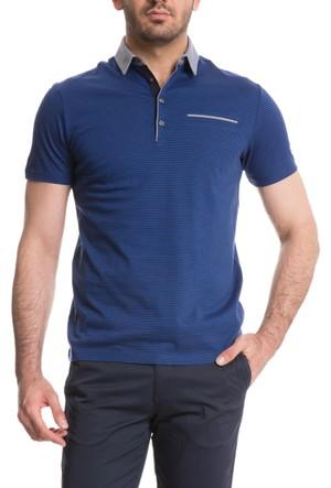 Cacharel Boula Polo Yaka T-Shirt Mavi