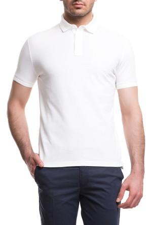 Cacharel CT15 Polo Yaka T-Shirt Beyaz