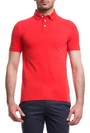 Cacharel CT15 Polo Yaka T-Shirt Kırmızı