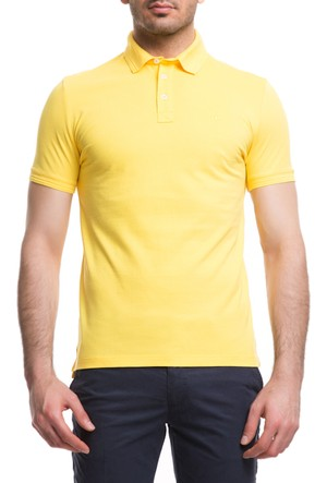 Cacharel CT15 Polo Yaka T-Shirt Sarı