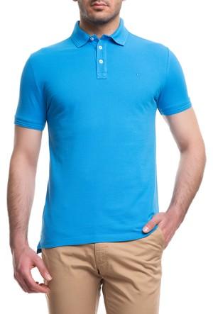Cacharel CT15 Polo Yaka T-Shirt Turkuaz