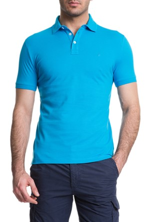 Cacharel CT15 Polo Yaka T-Shirt Yeşil