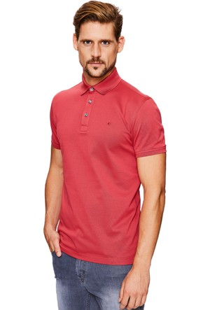 Cacharel CT17 Polo Yaka T-Shirt Kırmızı