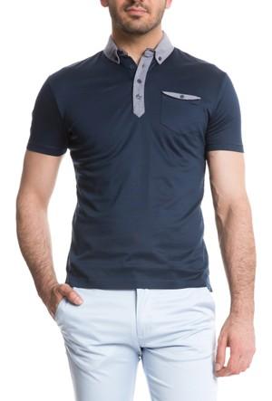 Cacharel Duplan Polo Yaka T-Shirt Koyu Lacivert