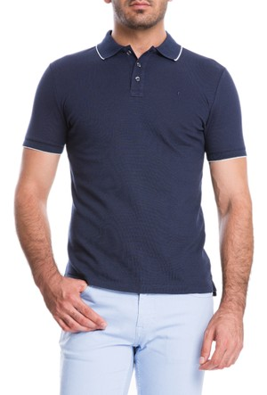 Cacharel Final Polo Yaka T-Shirt Koyu Lacivert