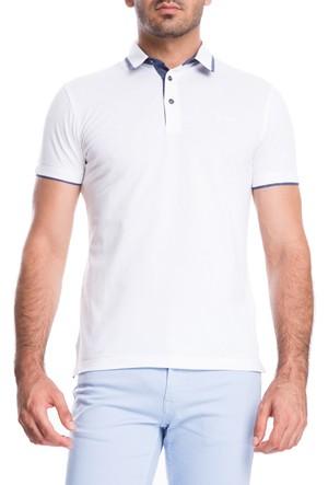 Cacharel Paxy Polo Yaka T-Shirt Beyaz