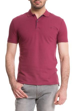 Cacharel Tropica Polo Yaka T-Shirt Kırmızı