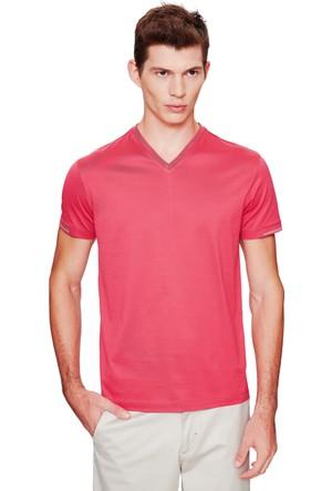 Cacharel Benifo V Yaka T-Shirt Kırmızı
