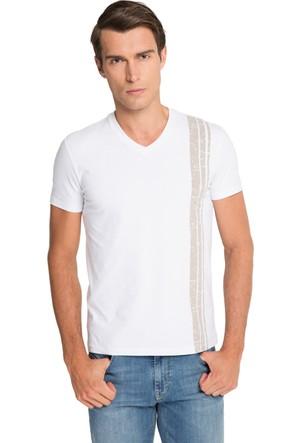 Cacharel Saint V Yaka T-Shirt Bej