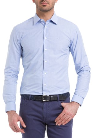 Cacharel Perret Gömlek Mavi