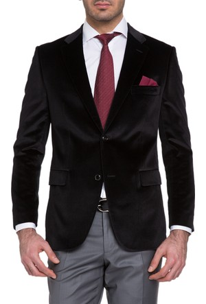 Cacharel Aleness Ceket Siyah