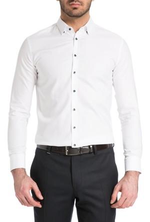 Cacharel Giosue Gömlek Beyaz