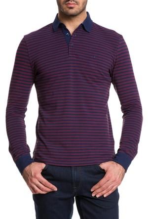 Cacharel Jiter Polo Yaka Sweatshirt Kırmızı