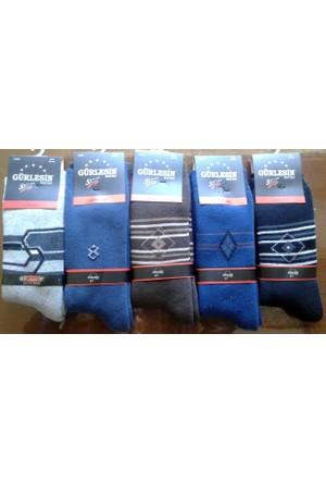 Gürlesin 6'Lı Erkek Havlu Çorap 12502