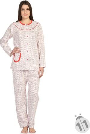 Bsm 23116 Bayan Uzun Kollu Pijama Takımı