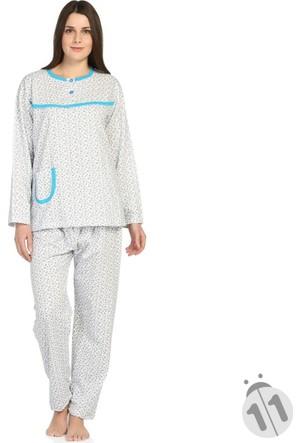 Bsm 23120 Bayan Uzun Kollu Pijama Takımı