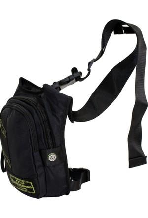Ççs 30991-S Siyah Bacak Bel Çantası, Body Bag