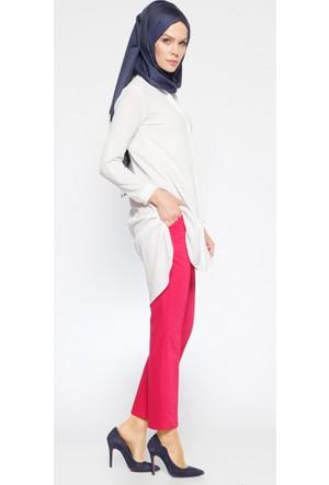 Klasik Pantolon - Fuşya - Modesty