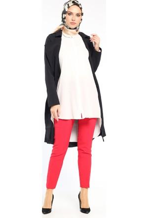 Klasik Pantolon - Kırmızı - Modesty