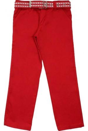 Modakids Erkek Çocuk Kırmızı Keten Pantolon 037-104002-002