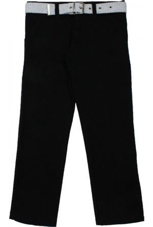 Modakids Erkek Çocuk Siyah Keten Pantolon 037-104002-038