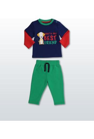 Wonder Kids Erkek Bebek 2'li Takım WK17W1369