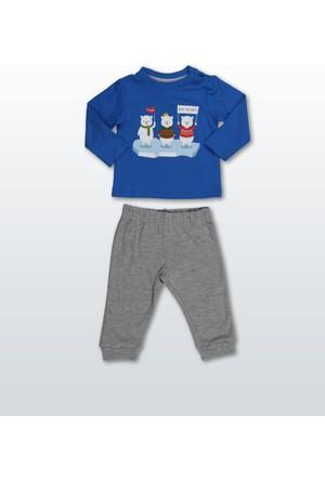 Wonder Kids Erkek Bebek 2'li Takım WK17W1370