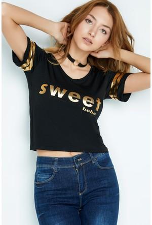 FullaModa Baskılı T-Shirt 17Y17AKYÜZ0041