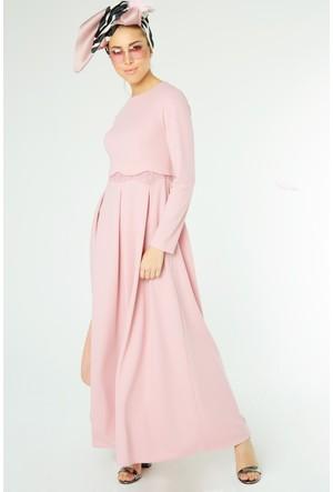 FullaModa Güpürlü Elbise 17YLRN0005