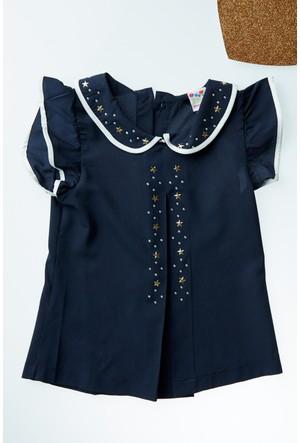 FullaModa Kız Çocuk Taşlı Bluz 17YPAMPAL0007