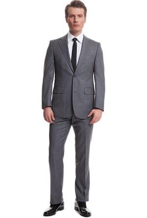 Pierre Cardin Twofit/Frensy Takım Elbise Füme